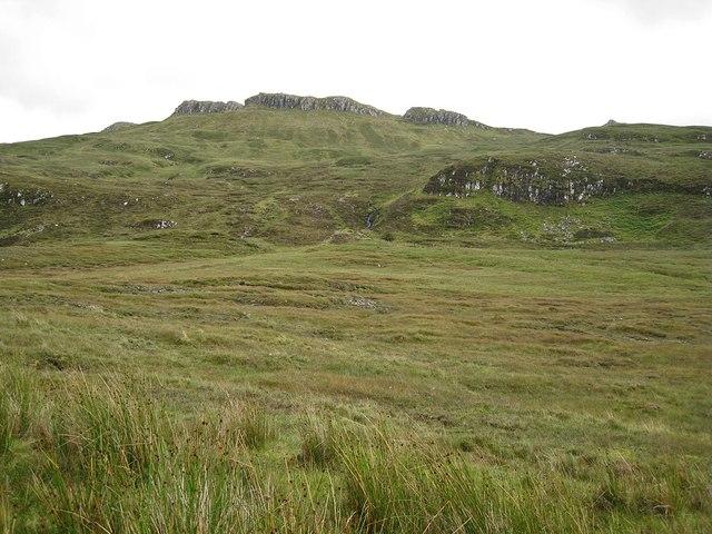 Across Brae Meadale to Roineval