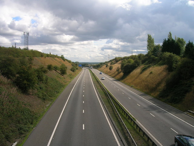 A1 (M) southbound