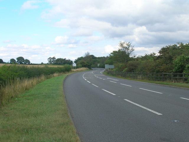 A614 towards Bawtry