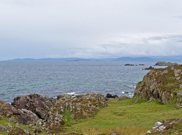 Iona coastline
