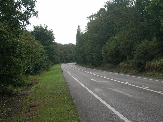 A614 towards Blyth