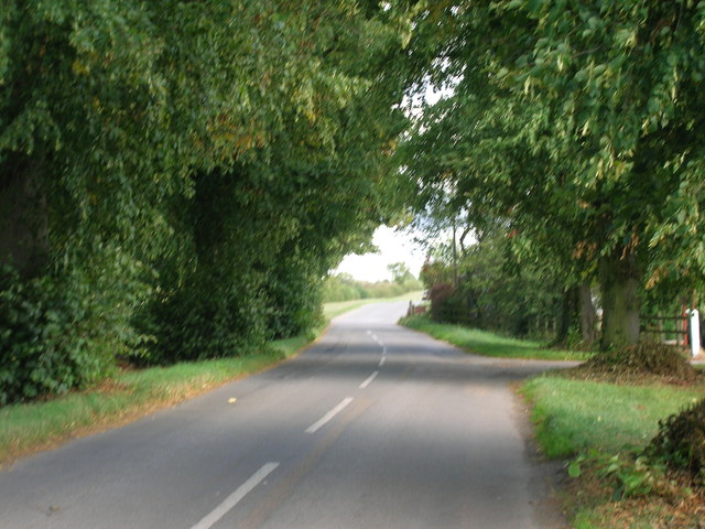 Minor road towards Ranskill