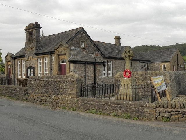 Sawley War Memorial and Schoolhouse