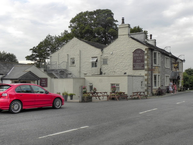 The Spread Eagle Inn, Sawley