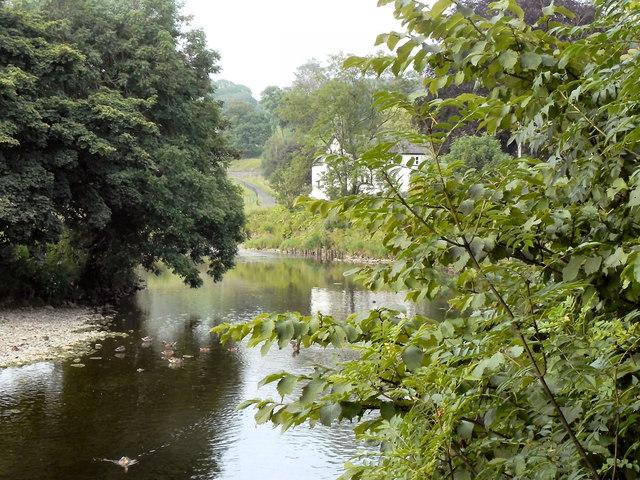 River Ribble, Sawley