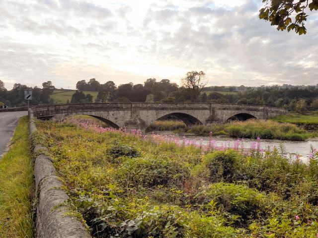 River Ribble, Sawley Bridge