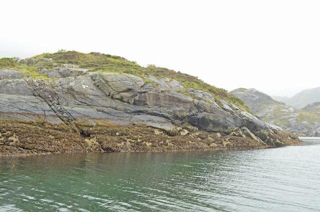 Unnamed island in Loch nan Leachd