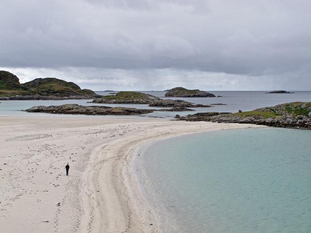 Beach near Knockvologan
