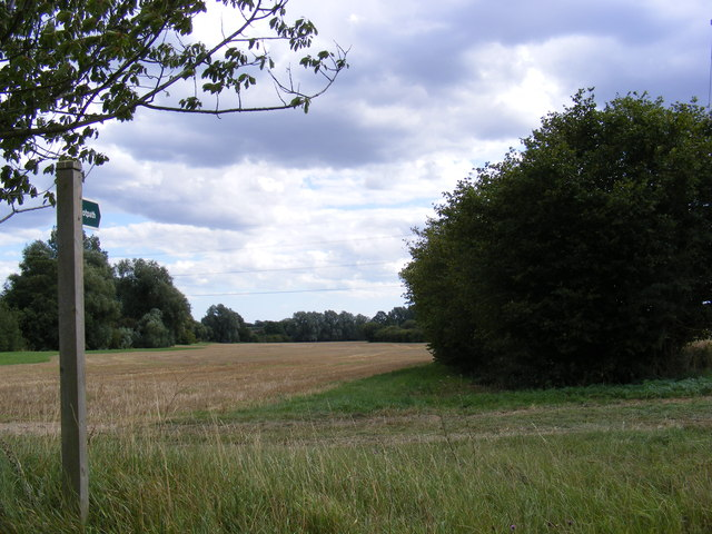 Footpath to Moat Farm