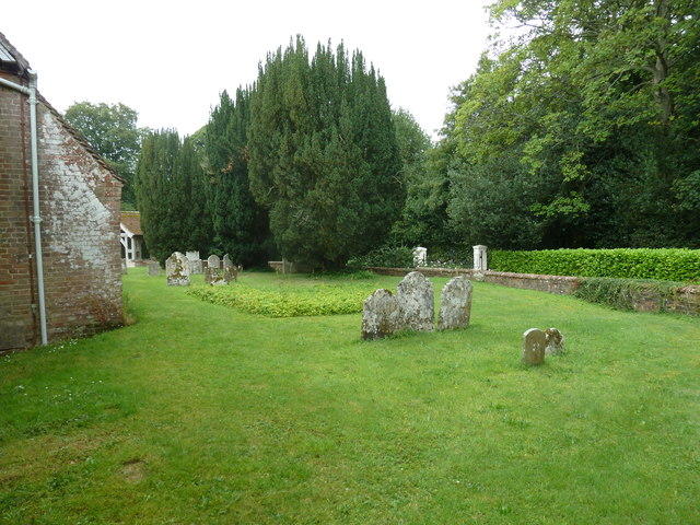 Dummer - All Saints Church:  churchyard (ii)