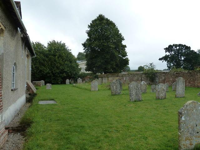Dummer - All Saints Church:  churchyard (iv)