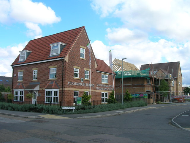 New build housing off Station Road, Ranskill