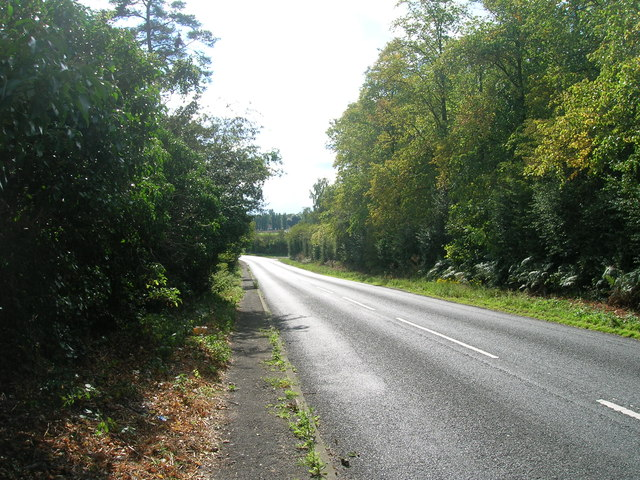 B6045 towards Blyth
