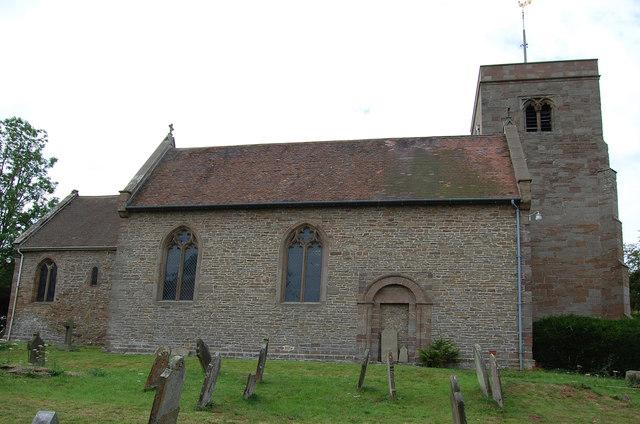 St Philip & St James Church, Tarrington