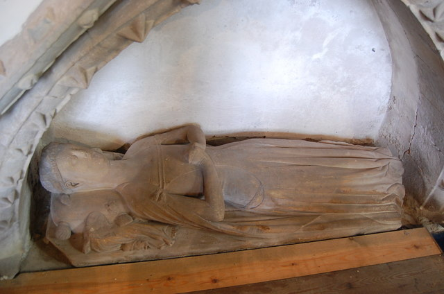 The Grey Lady in Tarrington Church