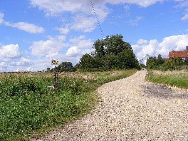 The Entrance to Doves Farm