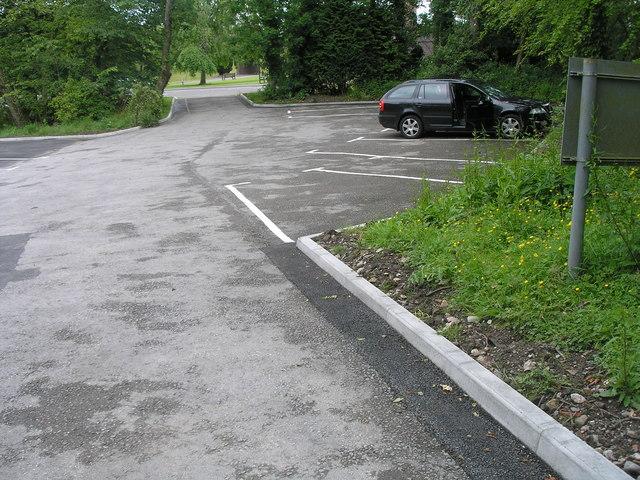 Car park, Distington Hall Crematorium