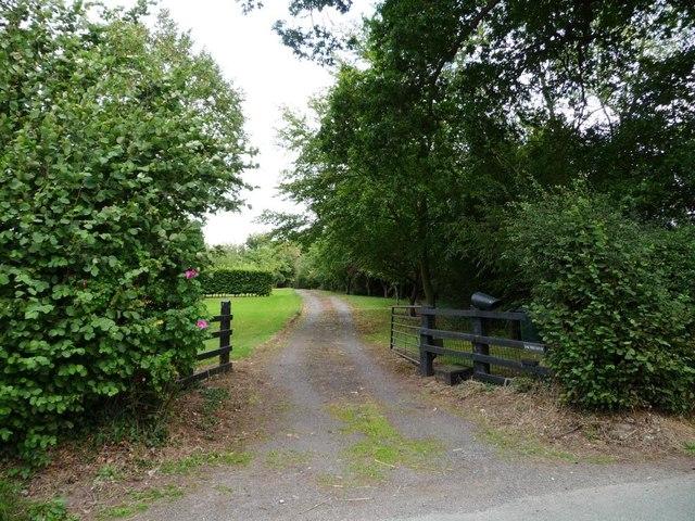 Entrance to Oak Tree House