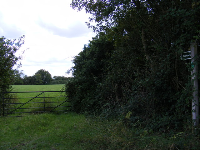 Footpath to Jockey's Lane & The Street