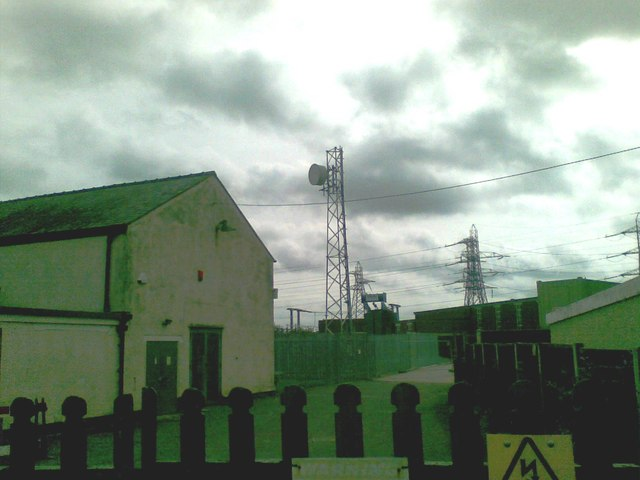 Telecommunication mast, Crewe