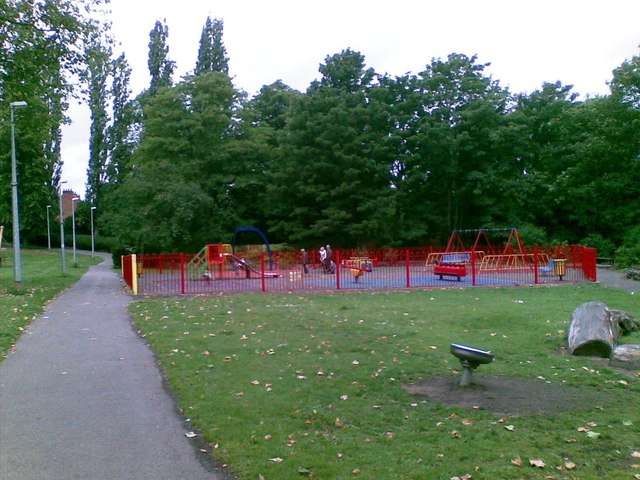 Play area, Valley Park, Crewe