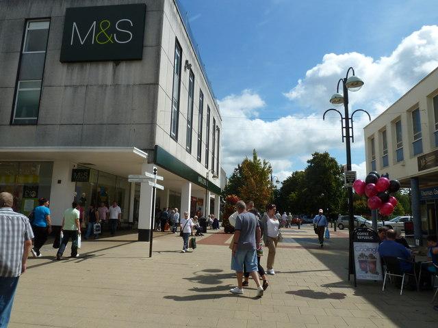 M & S in Queensway