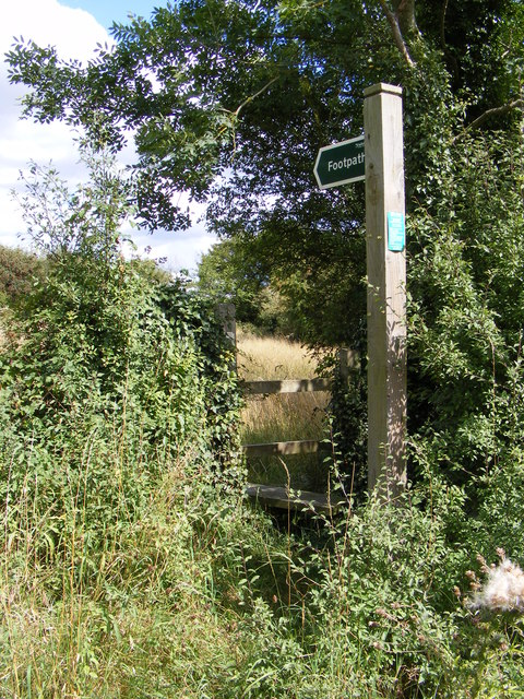 Footpath to Swan & Jockey's Lane