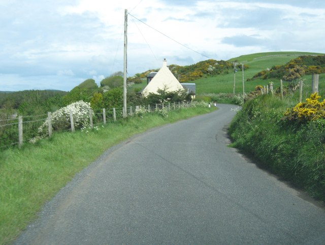 Approaching Bay Cottage