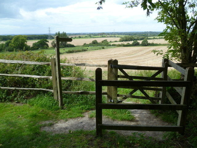 Kissing gate at Fulking