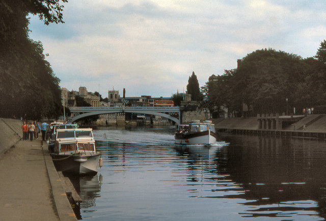 River Ouse, Lendal Bridge