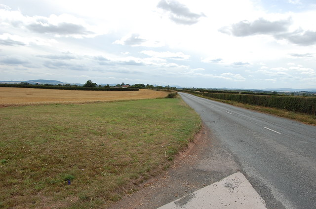 Canon Pyon Road near Arundel Farm