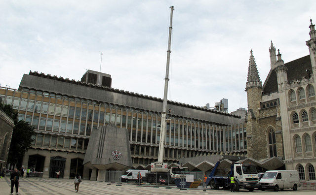 Crane at the Guildhall