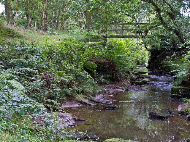 Stream near Bagnall Old Mills