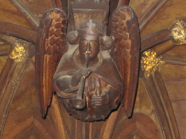 Medieval wood carving in Chester Cathedral