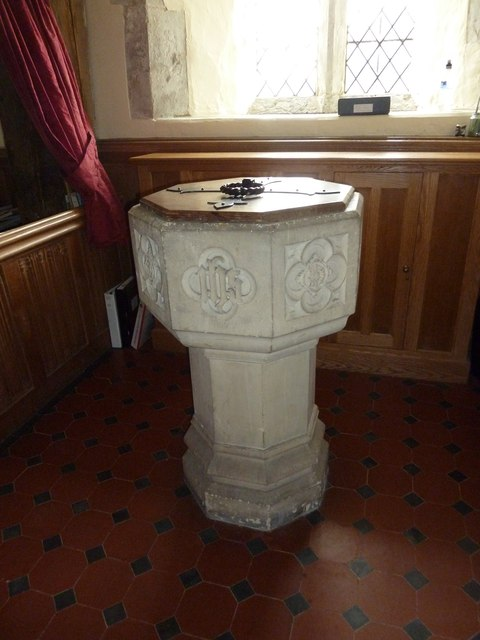 Dummer - All Saints Church: font