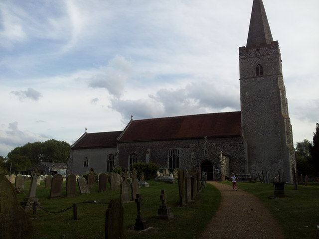 All Saints Church, Earsham