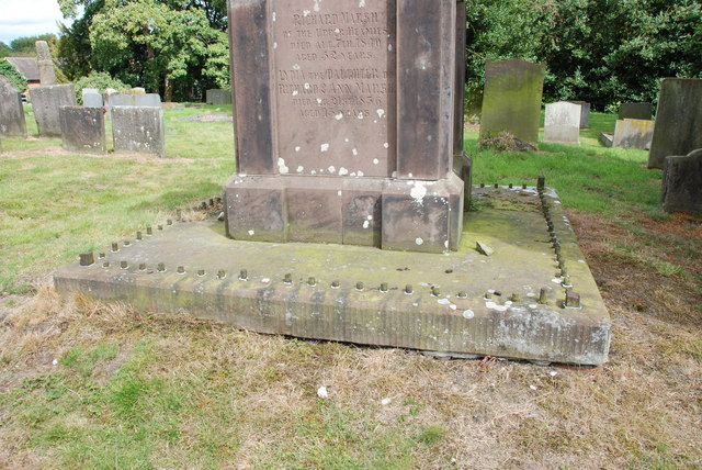 Tombstone, Chebsey Churchyard, Chebsey