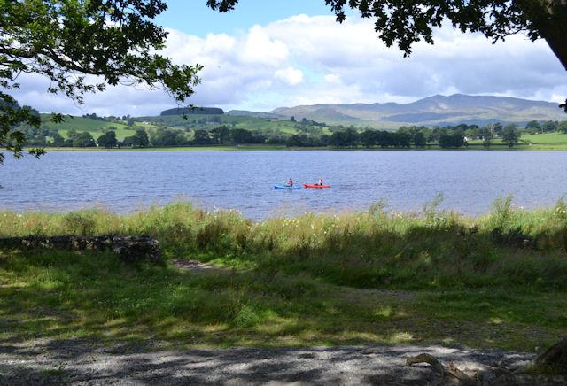 Bala Lake - Llyn Tegid from Llangower