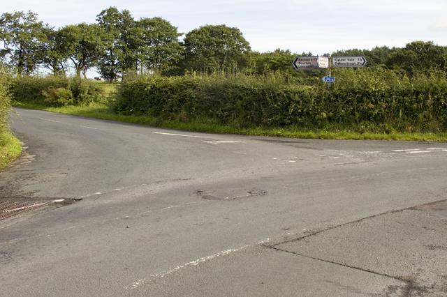Junction on Sandholme Lane