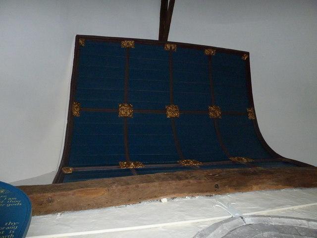 Dummer - All Saints Church:  ceiling