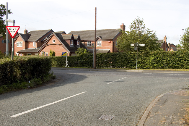 Road Junction at Bowgreave