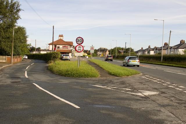Road Junction A6, Garstang