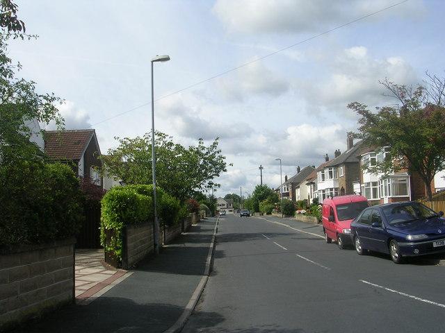 Kingsley Avenue - Ghyllroyd Drive