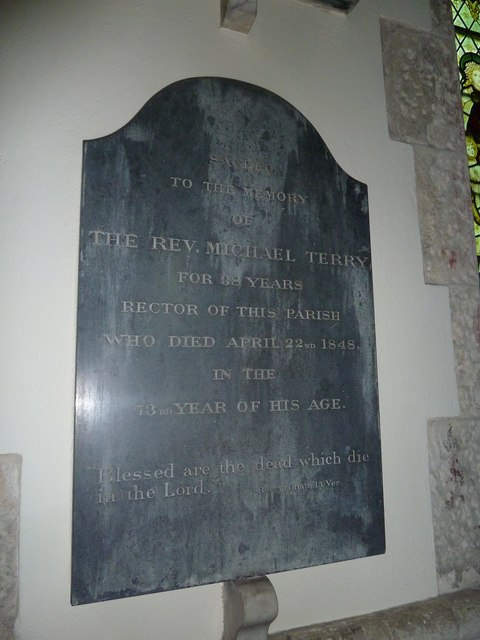 Dummer - All Saints Church: memorial (d)