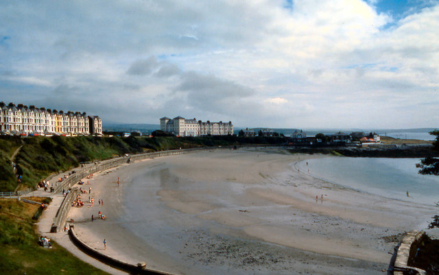 Port St Mary Promenade and Beach