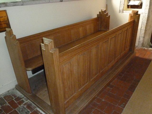Dummer - All Saints Church:  choir stalls