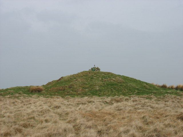 The summit of Domen-ddu