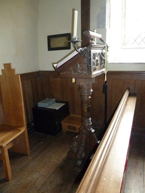 Dummer - All Saints Church:  lectern
