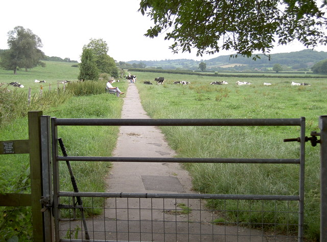 Path to Dulcote - not the Monarch's Way though