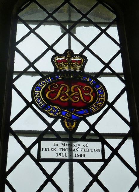 Dummer - All Saints Church: memorial window